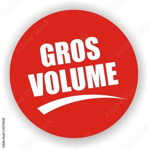 Fotografie, Obraz  bouton gros volume
