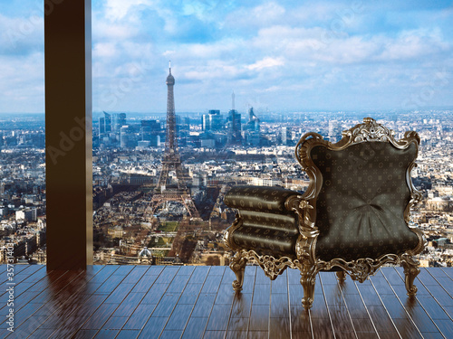 Fotografie, Obraz  Loft parisien