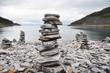 Steinturm in Norwegen