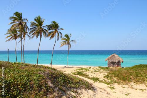 Poster de jardin Havana Cuba - Megano beach in Playas del Este, Havana province