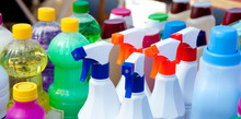 Chemical Products For Cleaning...