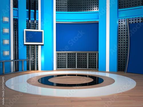 Valokuva  studio tv