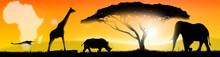 Illustration African Landscape