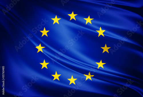 Foto  Flag of european union