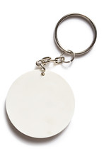 Key Ring On White Background