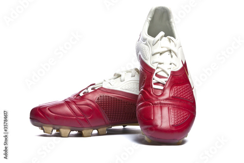8f55e0ad453 Football boots. Soccer boots. - Buy this stock photo and explore ...
