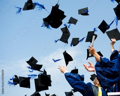 Obraz graduation - fototapety do salonu