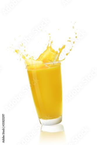 Printed kitchen splashbacks Beer / Cider orange juice