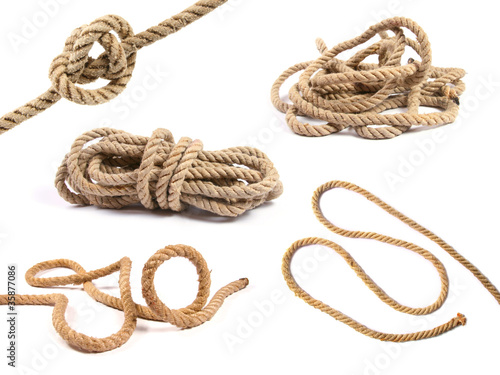 Photographie  variety of rope