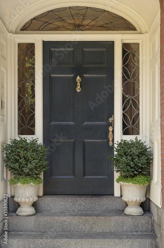 Fotografie, Obraz  Architectural Detail on a Front Door