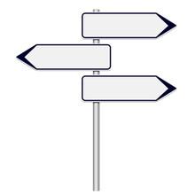 Panneaux Différentes Directions