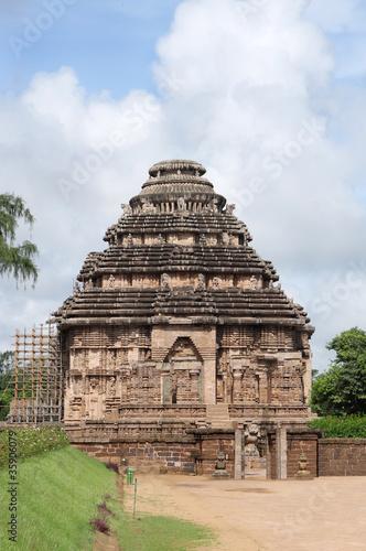 Fotografie, Obraz  Sun Temple Konark, Orissa, India