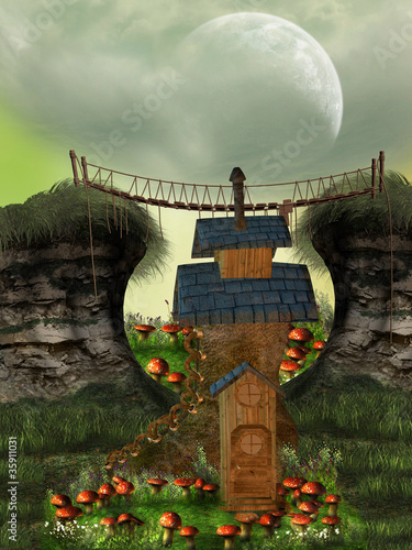 fairy house - 35911031