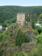 Castle Ruin Near Esch-sur-Sure