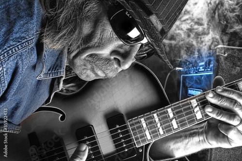 Fototapety, obrazy: blues  man