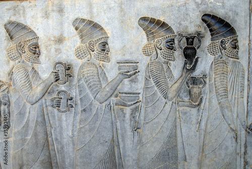 Fotografie, Obraz  Offerings at Apadana palace