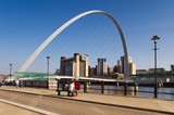 Gateshead Millennium Bridge arch