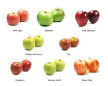 Collection Of Apple Varieties