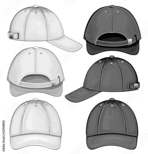 Fotografía  Vector illustration of baseball cap