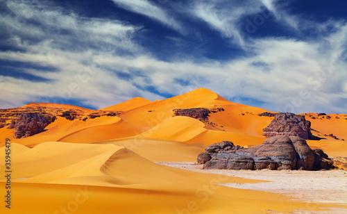 Wall Murals Algeria Sahara Desert, Algeria