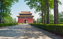 Gate To The Ming Tombs, China