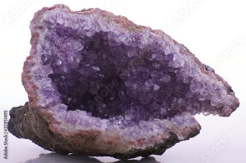 Doppelrollo mit Motiv - Bergkristall (von AK-DigiArt)