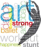 Dancing. Vector illustration - 35956817
