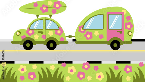 Recess Fitting Cars camping