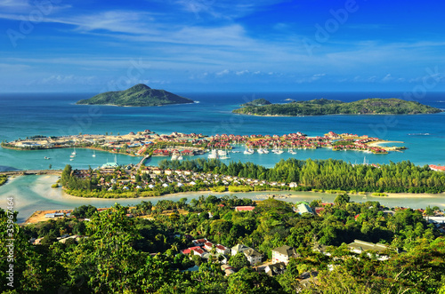 Fotografie, Obraz  Seychelles Islands