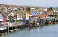 Small British Fishing Port