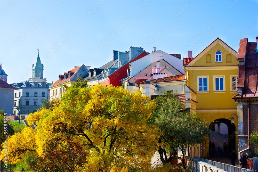 Fototapety, obrazy: Stare Miasto w Lublinie, Polska