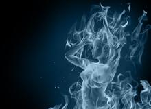 Dancing Smoke Girl