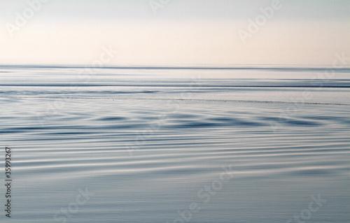 Foto-Schiebegardine Komplettsystem - stilles Meer (von Kara)