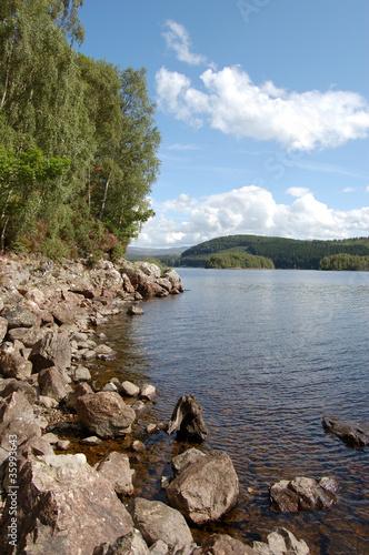 Fotografie, Obraz  Loch Garry vert