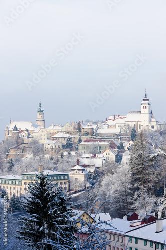 Photo  Nove Mesto nad Metuji in winter, Czech Republic