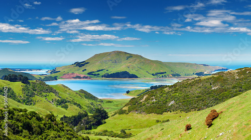 Photo  Coastal view, New Zealand