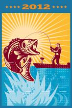 Fly Fishing Calendar 2012 Largemouth Bass