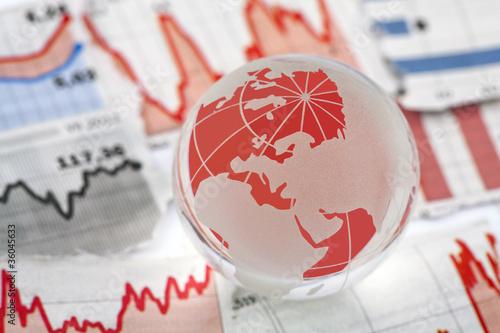 Plakaty ziemia swiatowy-kryzys-finansowy