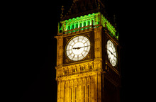 Big Ben, London At Night