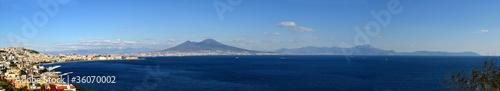 Poster Панорама Неаполя