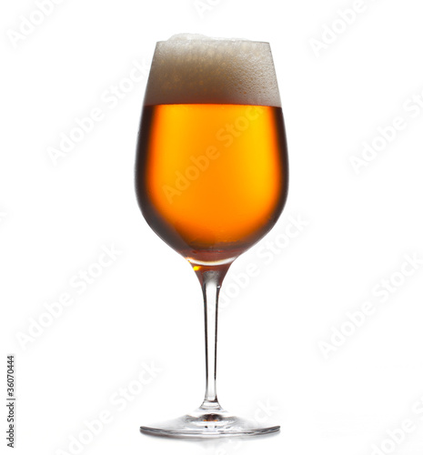 Photo  Large beer goblet chilled