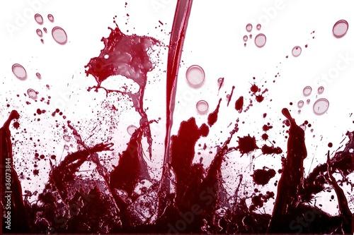 Valokuva  Wine explosion