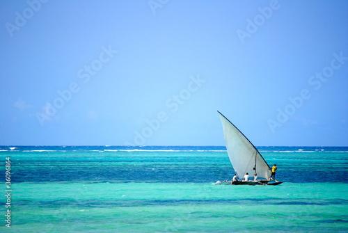 Staande foto Zanzibar Il mare di Zanzibar