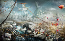 Fantasy Panoramic Landscape