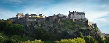 Edinburgh Castle Wide Panorama...