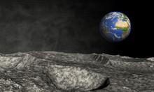 Blick Vom Mond Aus