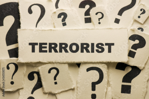 Fotografie, Obraz  Terrorist