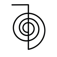 Vector Of Reiki Symbol Chokure...