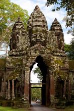 Gate To Angkor Thom. Angkor, C...