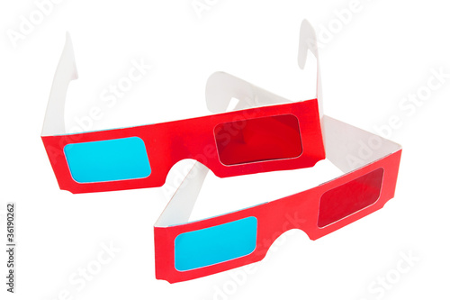 Photo  3D glasses